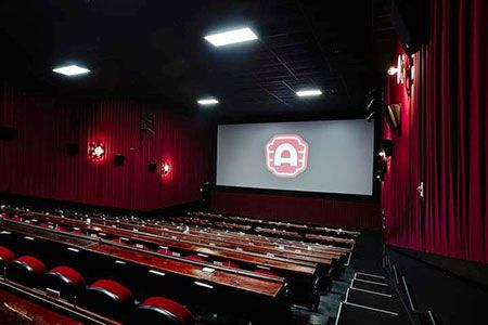 Interior of Alamo Drafthouse theatre where Roost will be held